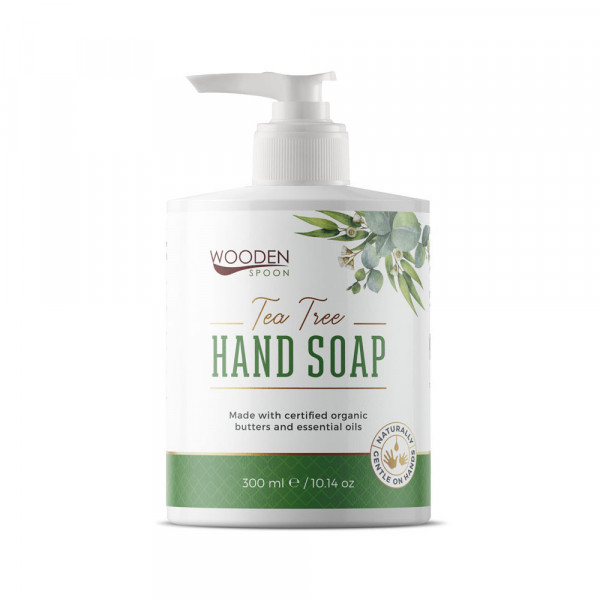Natural hand soap with tea tree 300 ml