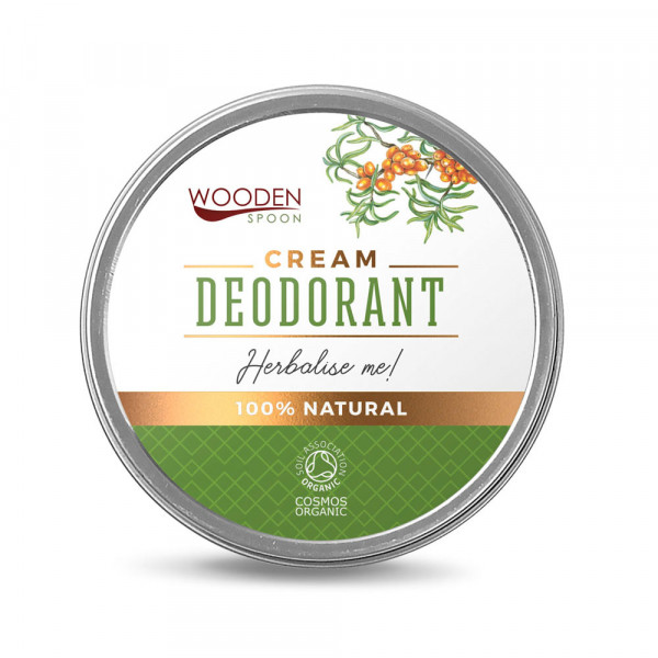 Wooden Spoon cream deodorant with herbs 60ml