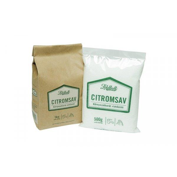 Zöldbolt Citric acid