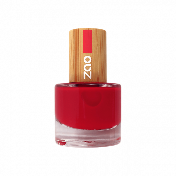 Nail Polish Carmin red