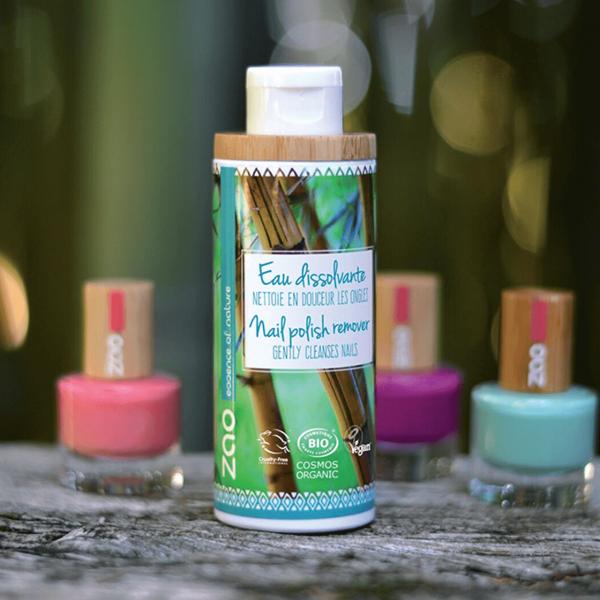 Organic nail polish remover