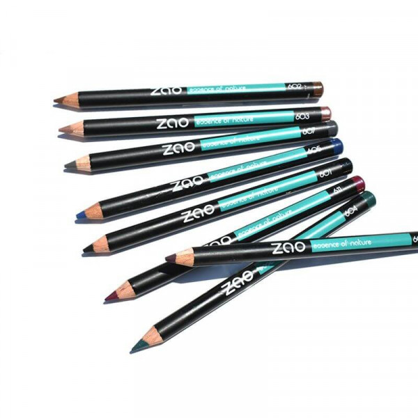 Organic pencil: eyes and eyebrows, 601 black
