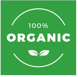 100% Organics termékek